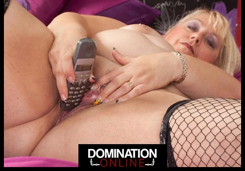Super-Fat Mistresses On The Phone